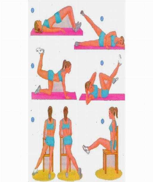 Топ-30 упражнений для внутренней части бедра (фото)