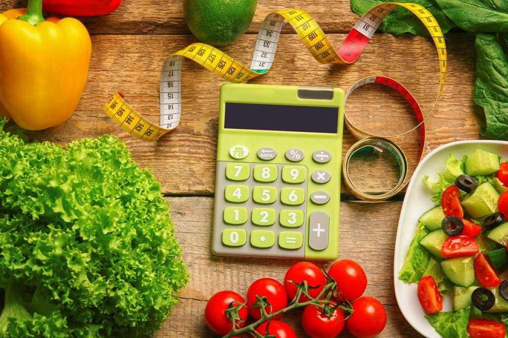 Подсчет калорий по формуле, таблице |