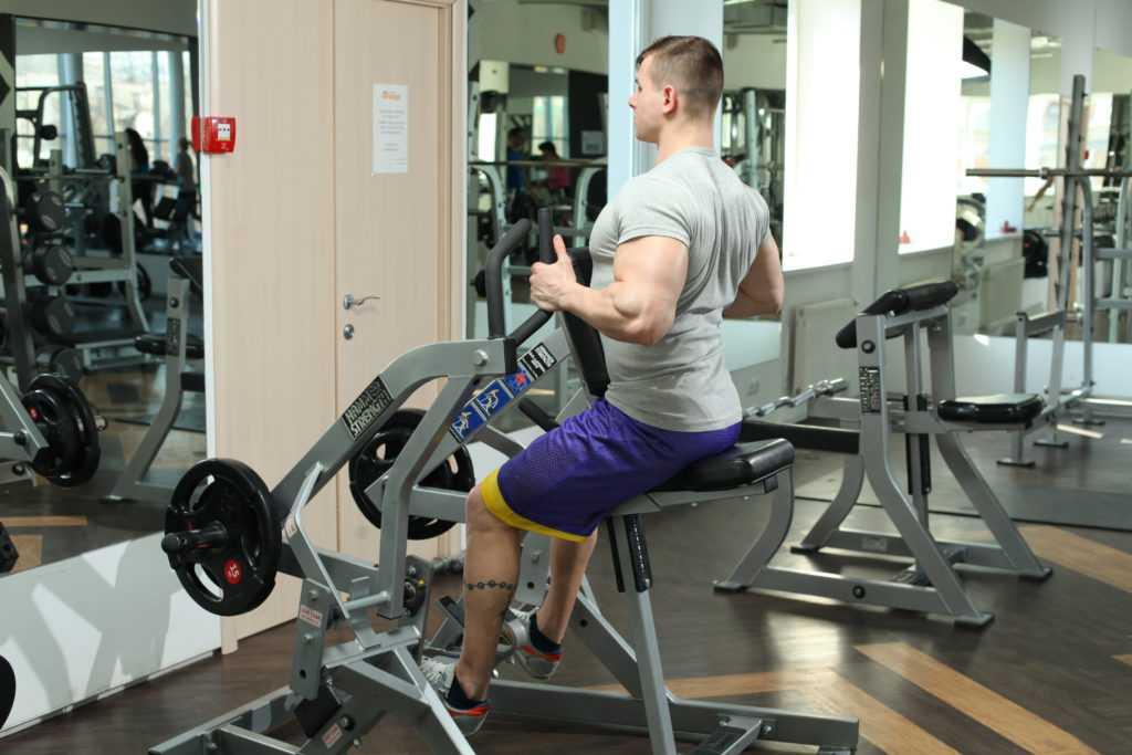 Рычажная тяга на спину – строим атлетичное тело