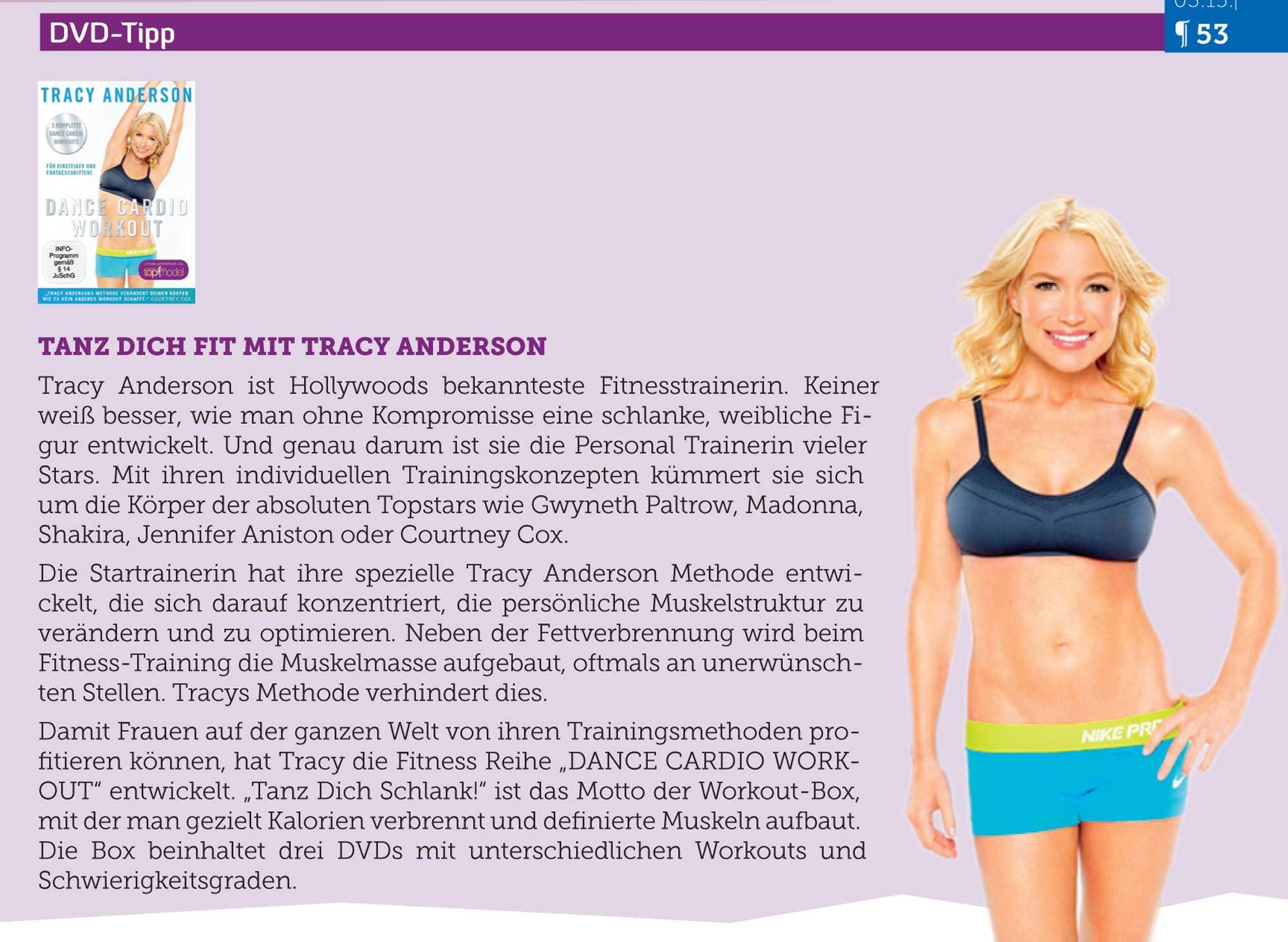 Трейси андерсон — звездный фитнес-тренер и её главные принципы тренировок