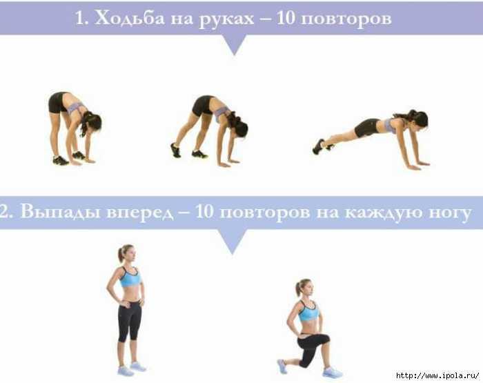 Короткие жиросжигающие супер-тренировки зузка лайт