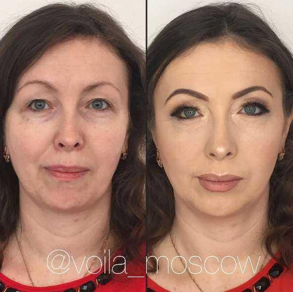 Омолаживающий макияж - красота для тех, кому за 40
