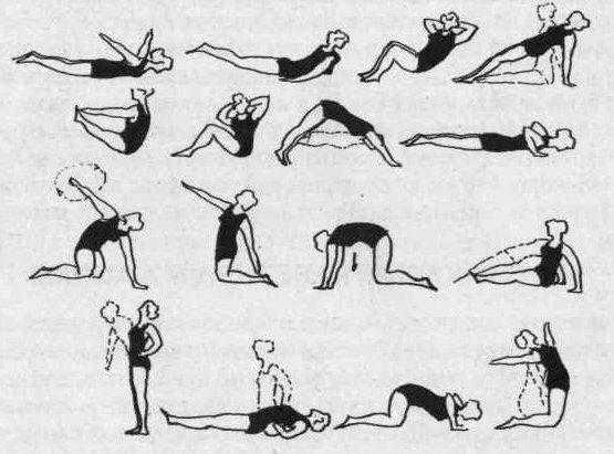 Самые эффективные упражнения при грудном остеохондрозе в домашних условиях
