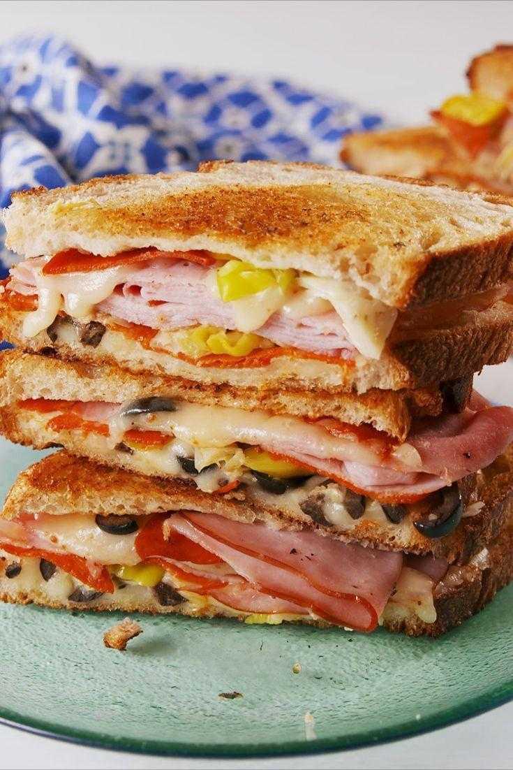 Как приготовить сендвичи по пошаговым рецептам с фото