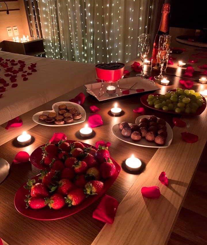 Полезный романтический ужин для двоих в домашних условиях, идеи, рецепты, что приготовить для любимого -