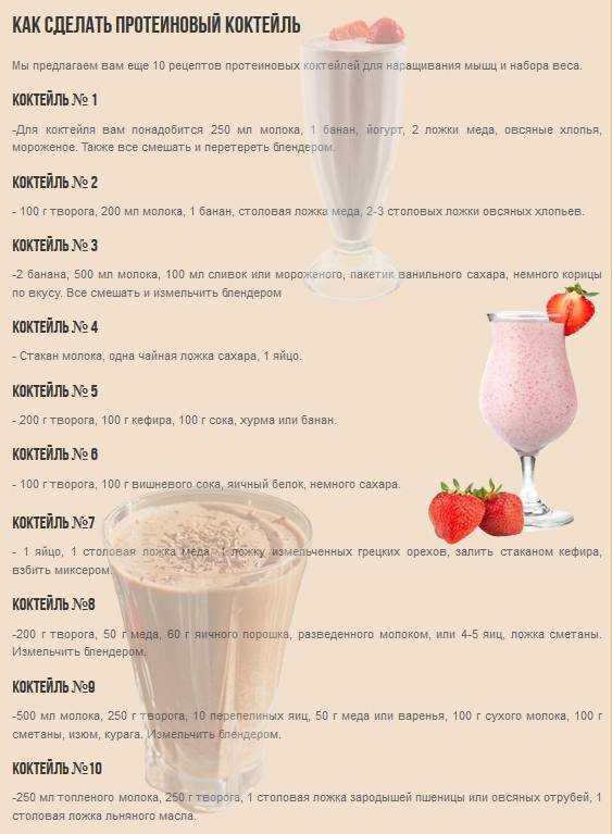 Польза употребления протеиновых коктейлей Расскажем, как улучшить рацион питания с помощью сбалансированного питания