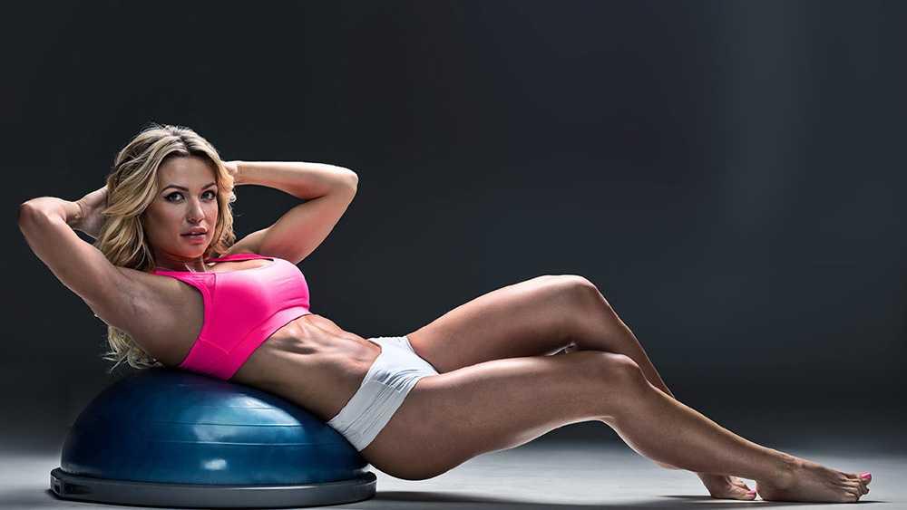 Тренировка от Екатерины Усмановой: ноги и ягодицы (видео)