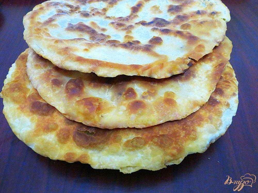 Как приготовить армянские лепешки с зеленью