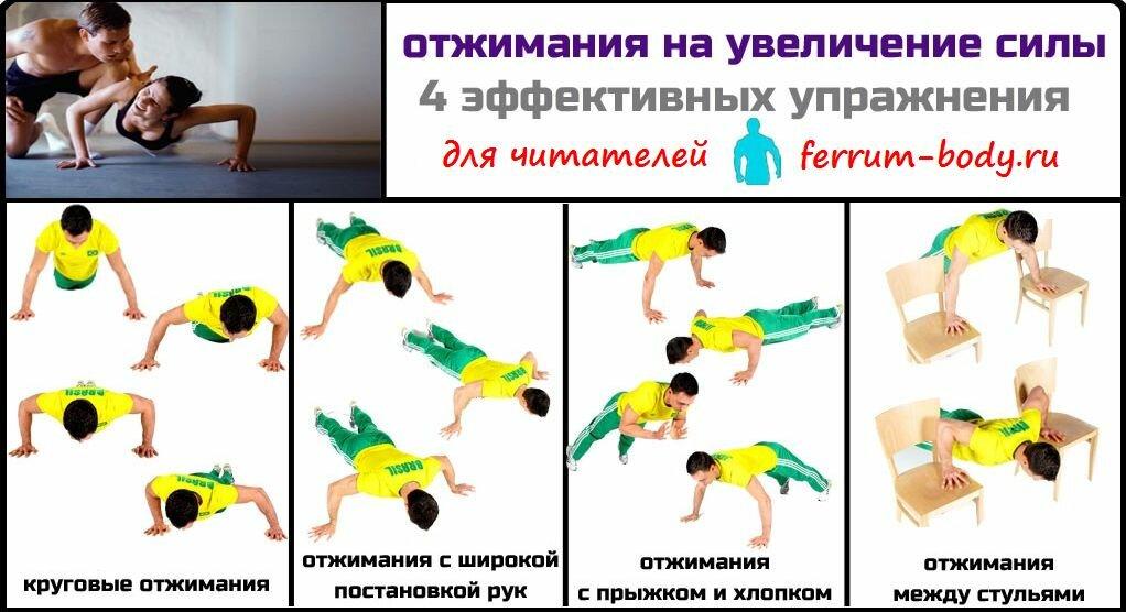 Вертикальные отжимания вниз головой или отжимания в стойке на руках